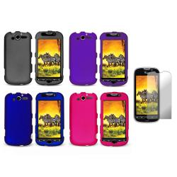 Premium HTC myTouch 4G Rubberized Case with Screen Protector