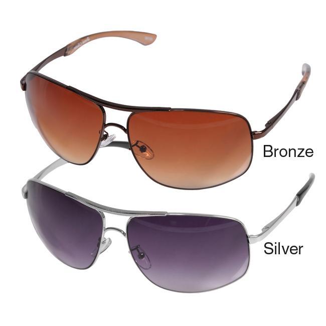 Journee Collection Women's '82156' Metal Frame Aviator Sunglasses