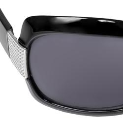 Journee Collection Women's '87052-G15-BLK' Fashion Sunglasses