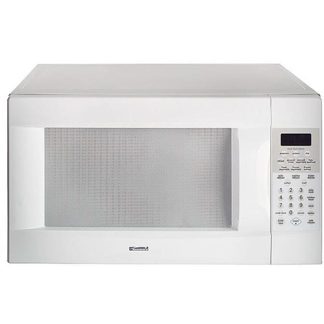 Kenmore Elite 66462 White 2 Cu Ft Countertop Microwave