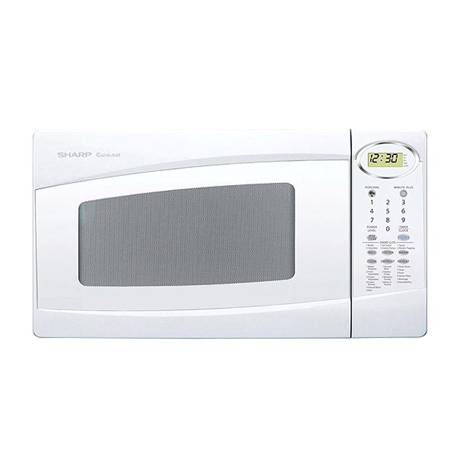 Countertop Microwave For Sale : Sharp R307NW 1-cubic-foot White Countertop Microwave (Refurbished ...