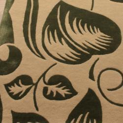 nuLOOM Handmade Modern Premium Wool Green Essence Rug (7'6 x 9'6) - Thumbnail 2