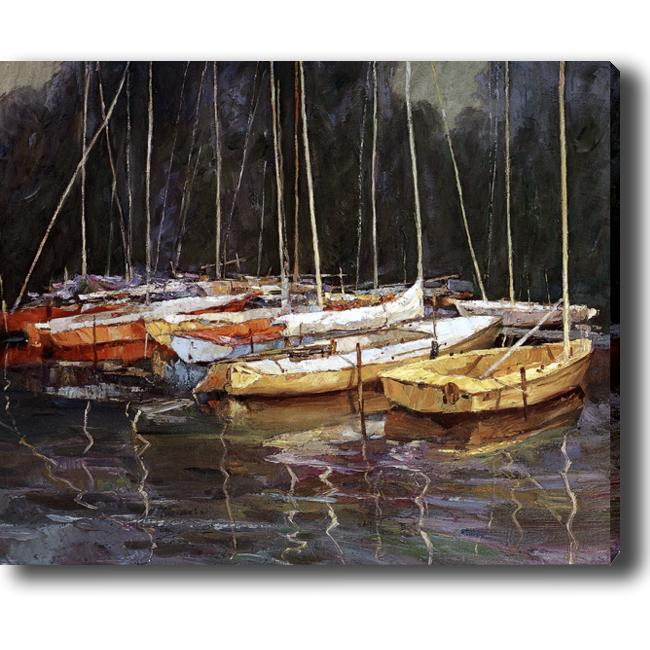 'Boat' Giclee Print Canvas Art