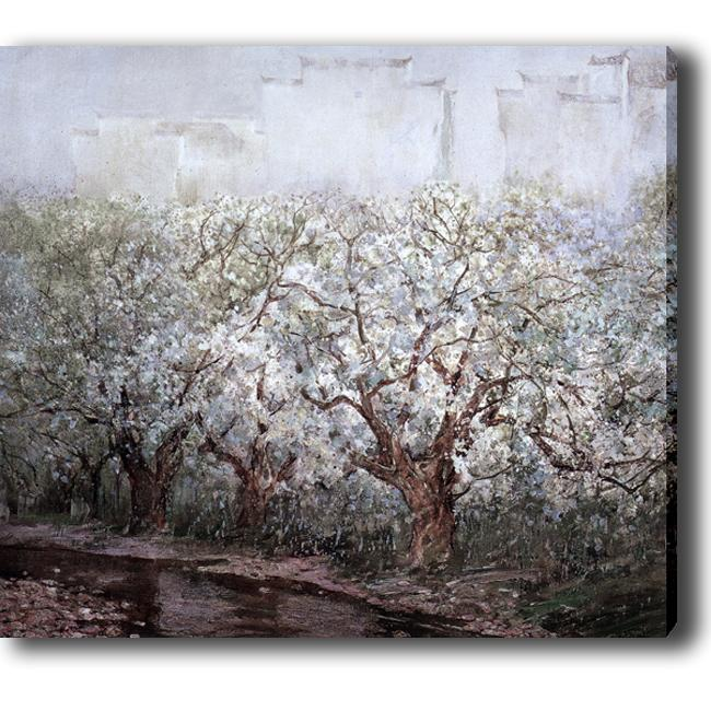 'Blossom' Giclee Canvas Art