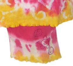 Ann Loren Girl's Tie Dye Shorts Set