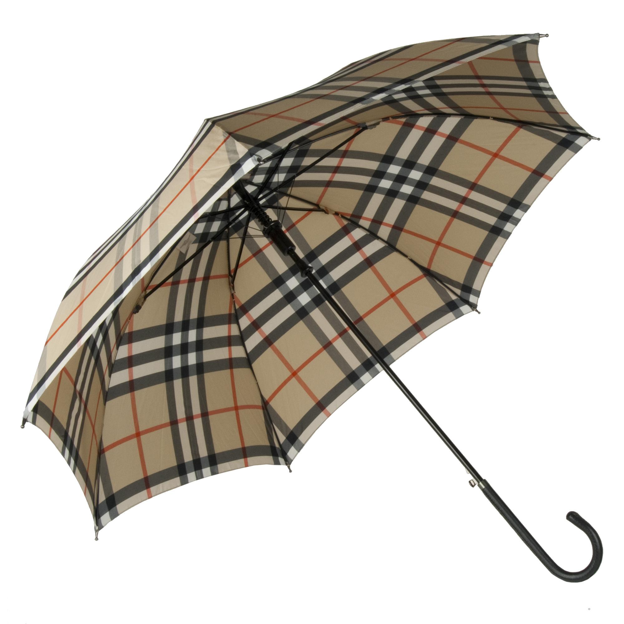 photograph relating to Umbrella Pattern Printable Free referred to as Burberry Beige Verify Print Walker Umbrella