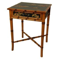 Handmade Wooden Ching End Table (China)