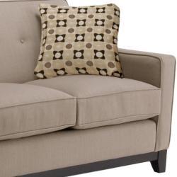 Jazz Pewter Fabric Sofa and Loveseat - Thumbnail 1