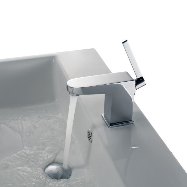 Vigo Ethan Slender Single-lever Chrome Bathroom Faucet