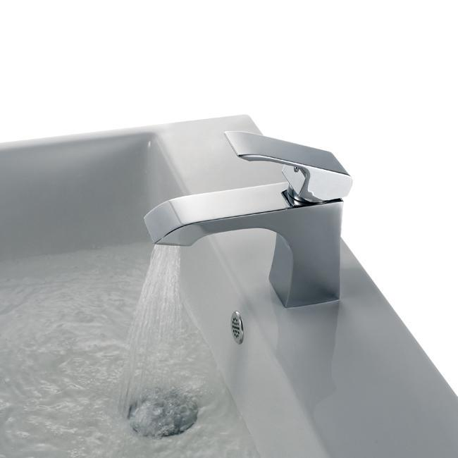 Vigo Attis Flat Top Single-hole Bathroom Faucet