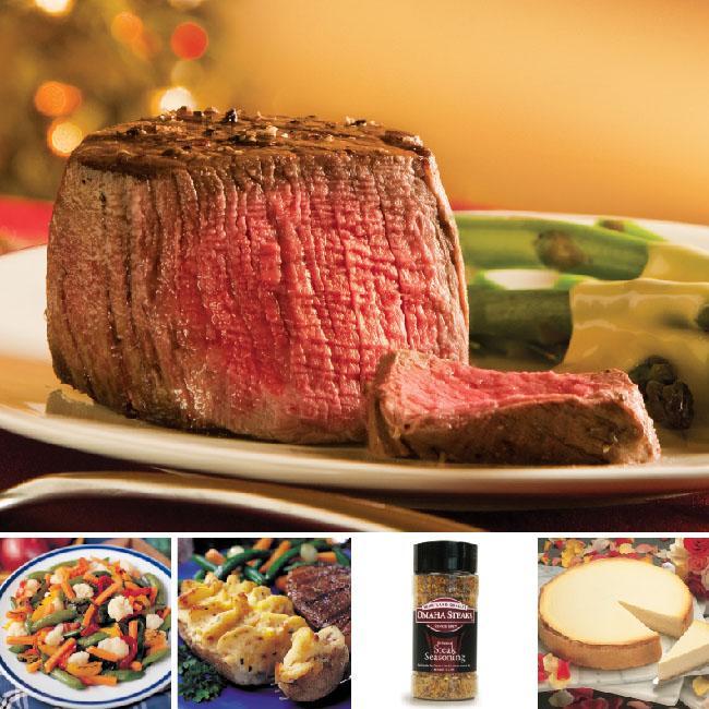 Omaha Steaks Ultimate Steak Dinner for 4