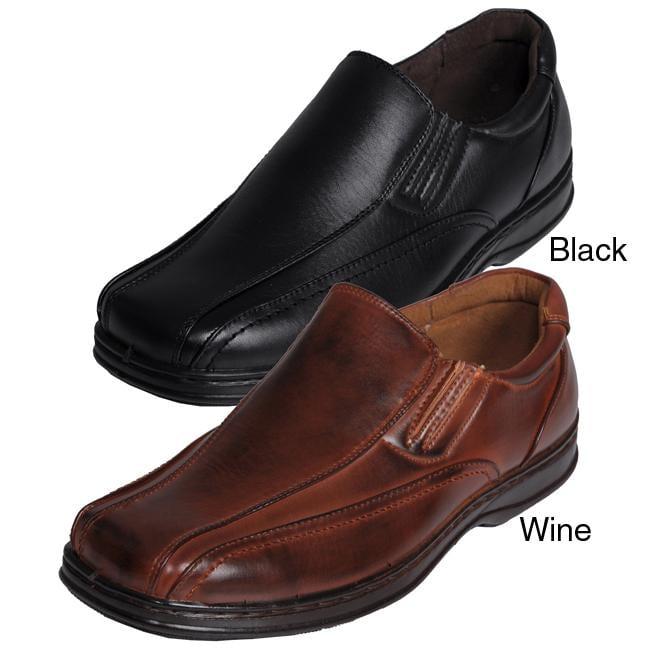 Boston Traveler Men's Square-toe Slip-on Loafers