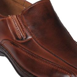 Boston Traveler Men's Square-toe Slip-on Loafers - Thumbnail 2