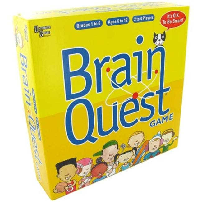 Brain Quest Grades 1-6 Quiz Game