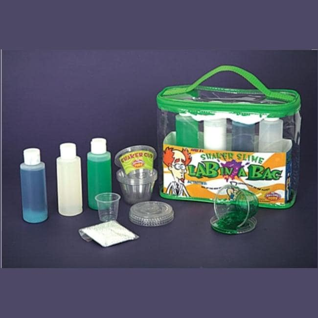 Be Amazing Lab In A Bag Shaker Slime Chemistry Kit Free