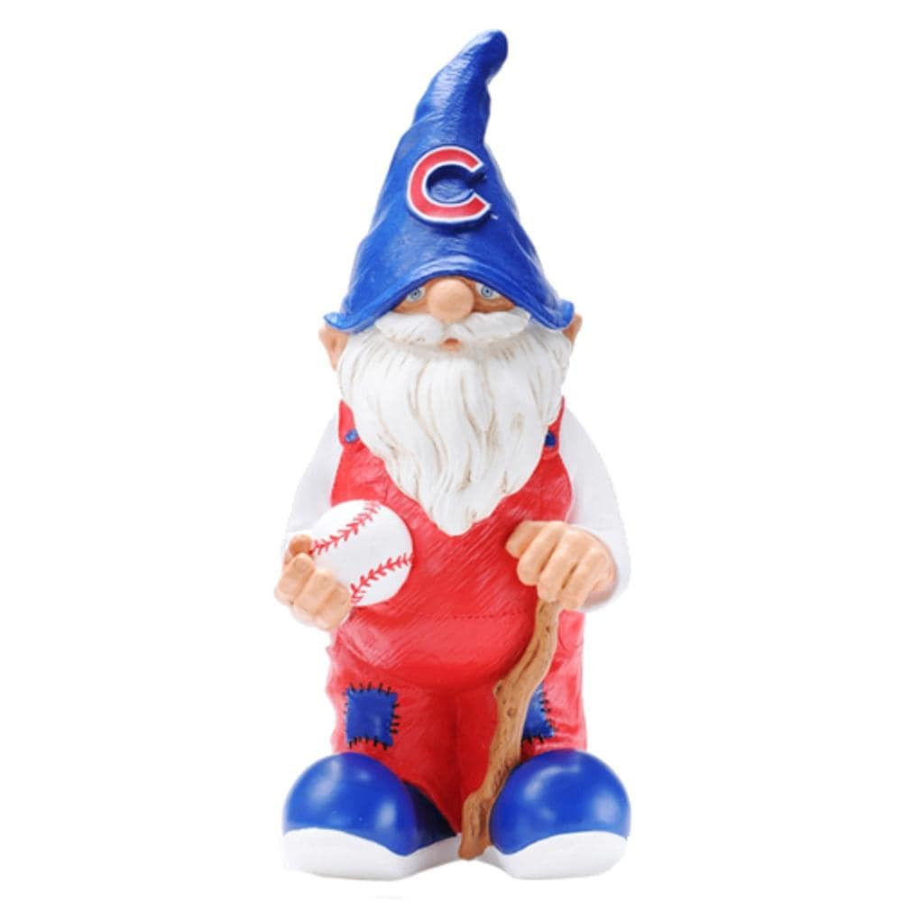 Shop Chicago Cubs 11 Inch Garden Gnome Free Shipping On
