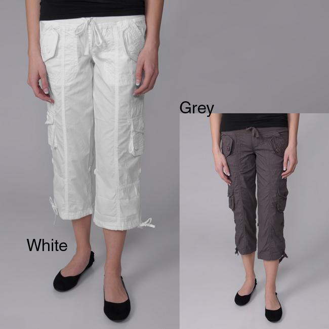 Ci Sono by Journee Juniors Cuffed Cargo Shorts