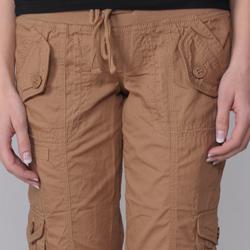 Ci Sono by Journee Junior's Cuffed Cargo Shorts