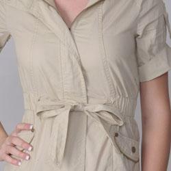 Ci Sono by Journee Juniors Zippered Short-sleeve Jacket - Thumbnail 2