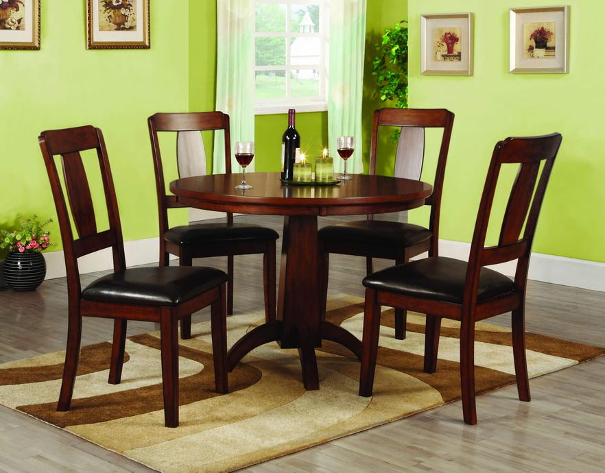 Furniture of America Martine Antique Oak 5-piece Dining Set - Thumbnail 0