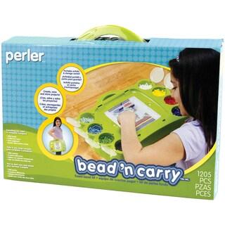 Perler Fun Fusion Fuse Bead Design And Go Activity Kit-