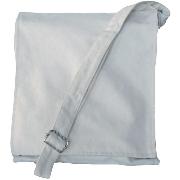 """Alterable Canvas Messenger Bag-10""""X12.5""""X2"""""""