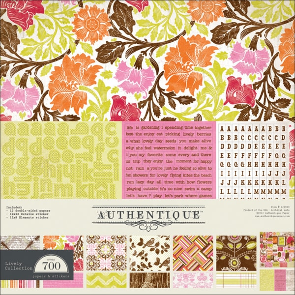 "Lively Collection Kit 12""X12""-"