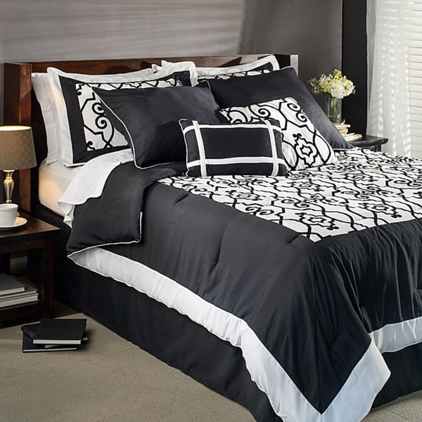 Barrymore King-size 8-piece Comforter Set