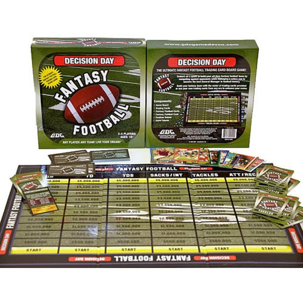 Decision Day Fantasy Football Board Game