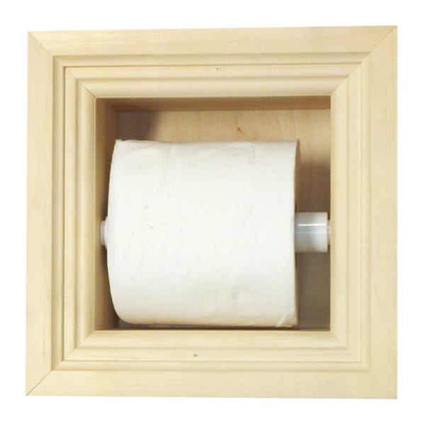 In Wall Toilet Paper Holder recessed toilet paper holder - free shipping today - overstock