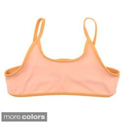 American Apparel Girls Nylon Tricot Bikini Top