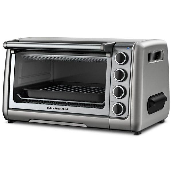 KitchenAid RKCO111CU Contour Silver 10-inch Countertop Oven (Refurbished)