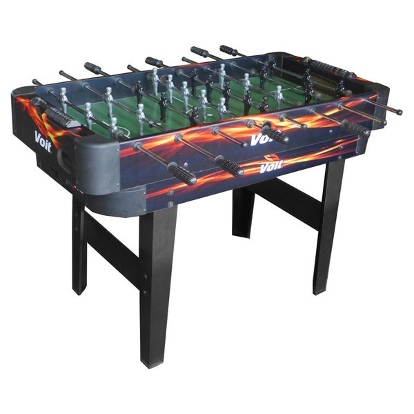 "Voit 48"" 9 in 1 Combo Table Game Air Hockey Foosball Ping Pong"