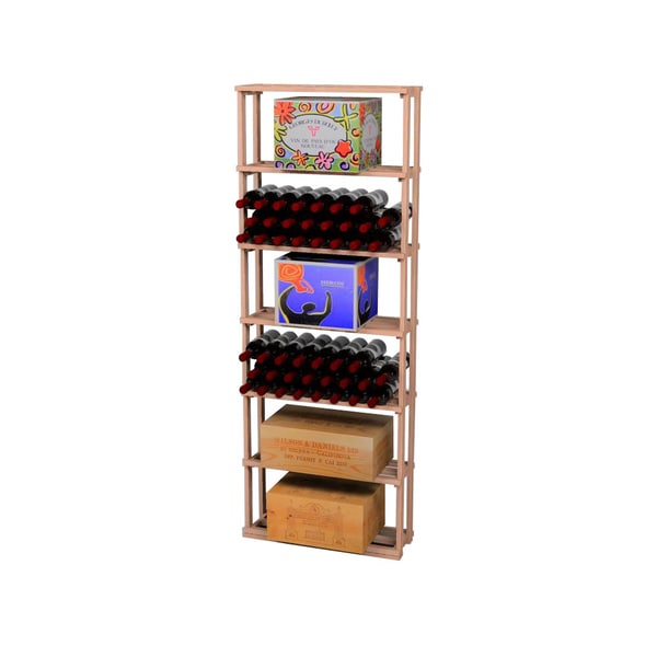 Traditional Redwood Case Wine Rack