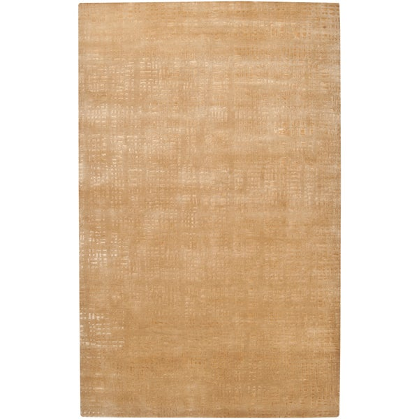 Julie Cohn Hand-knotted Brownwood Abstract Design Wool Rug (2 ' x 3')