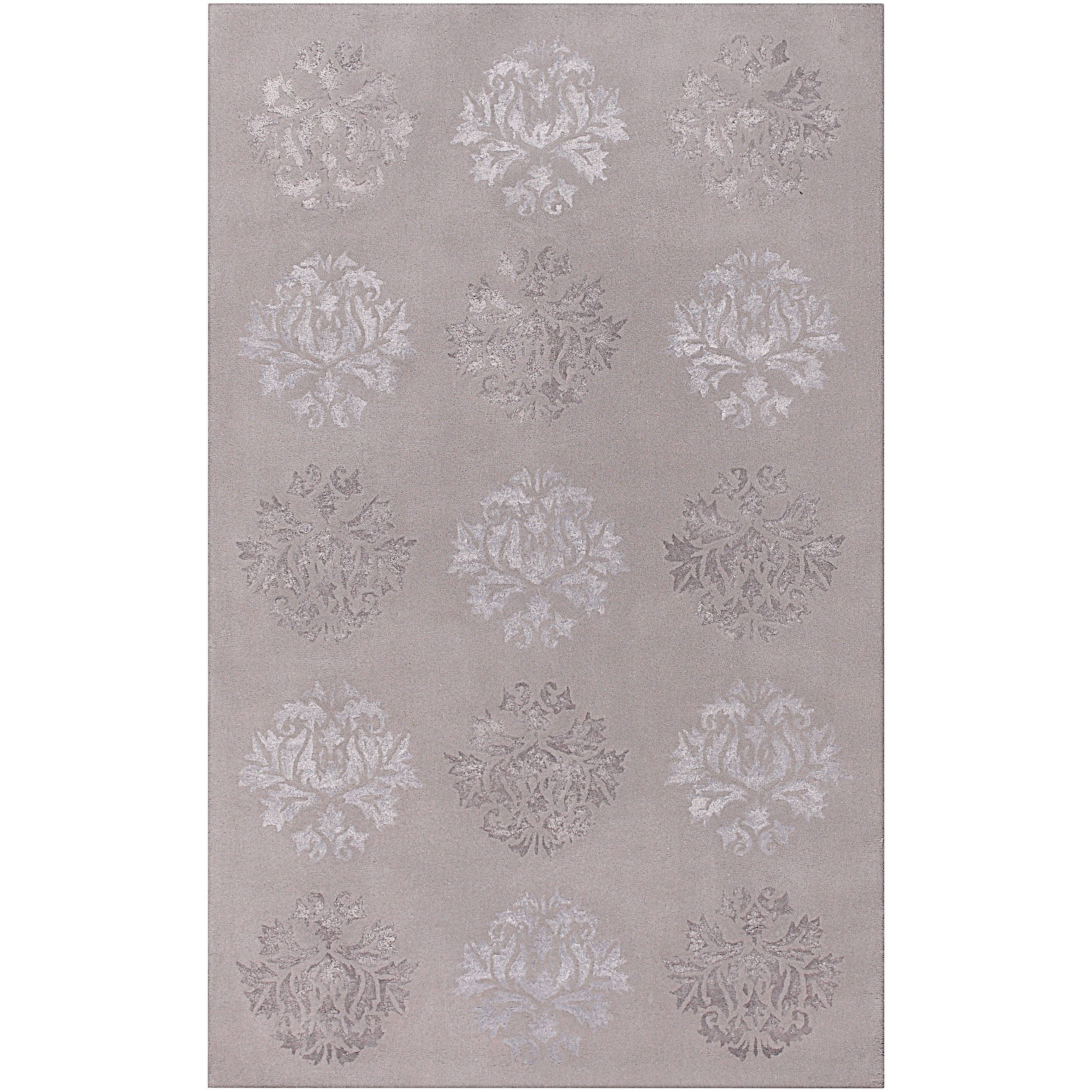 Hand-tufted Bearcreek Wool/ Viscose Rug (2' x 3')