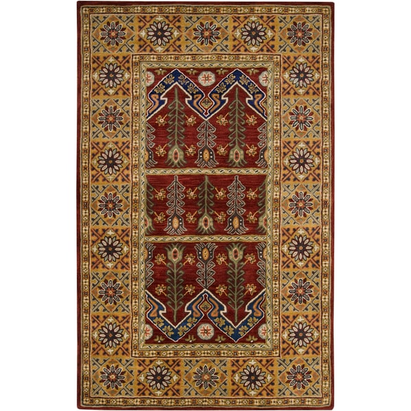 Hand-tufted Athens Wool Rug (2' x 3')