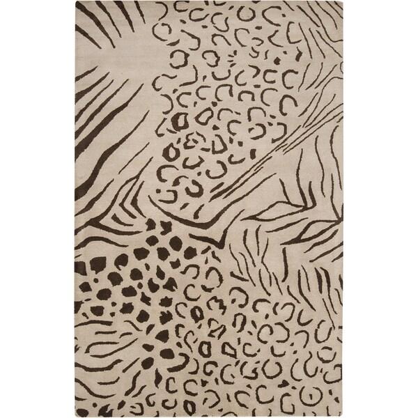 Hand-tufted Atascadero Wool Rug (2' x 3')