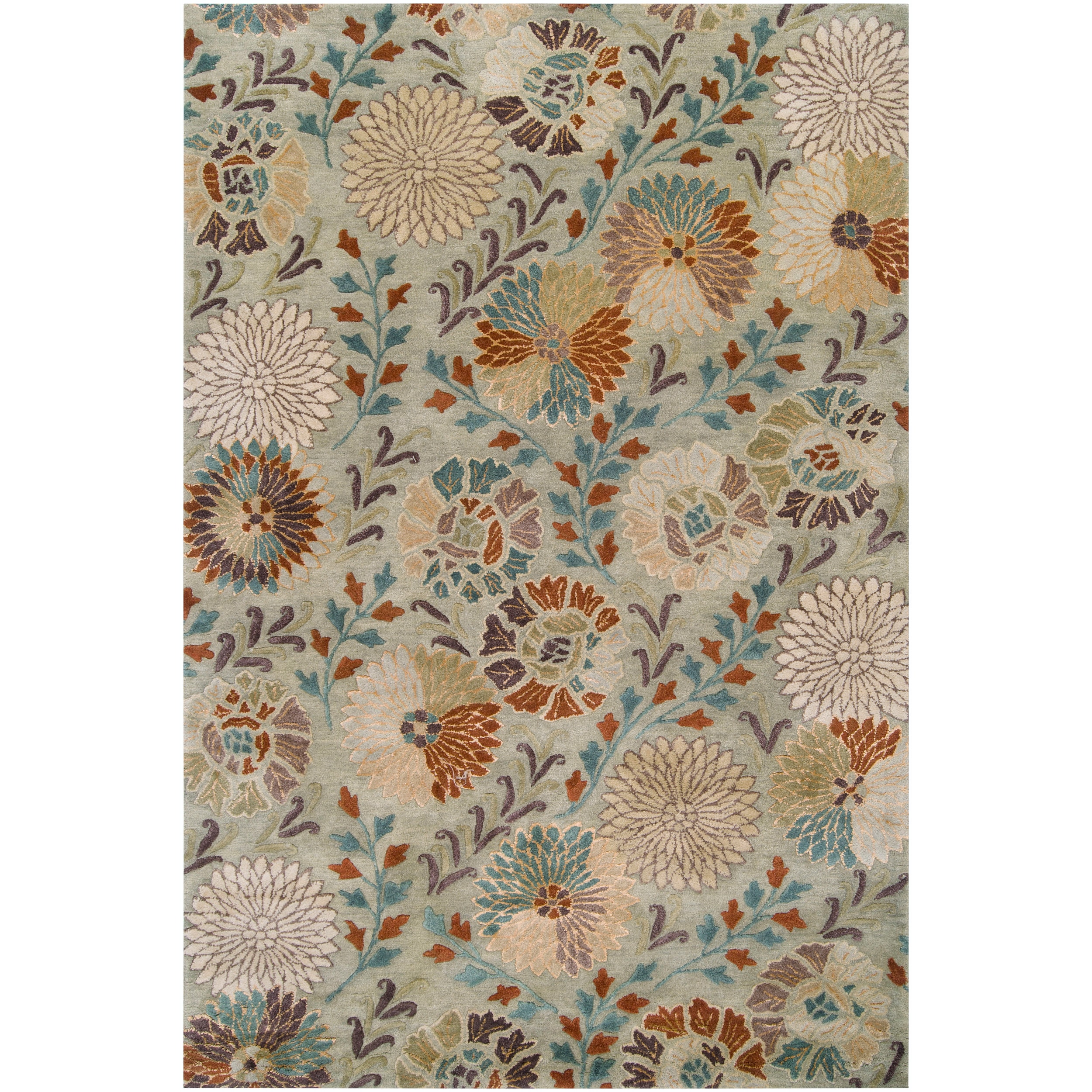 Hand-tufted Amherst New Zealand Wool Area Rug (2' X 3