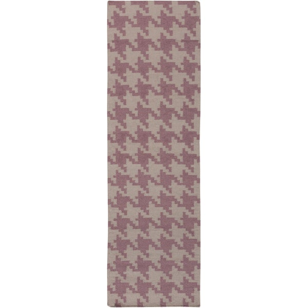 Hand-woven Lynwood Wool Rug (2'6 x 8')