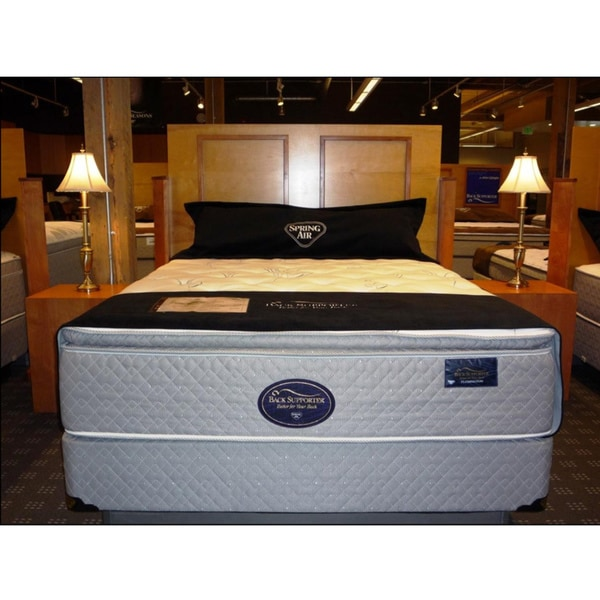Spring Air Flemington Plush Back Supporter Mattress Set