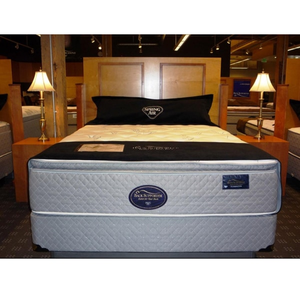 Spring Air Flemington Firm Back Supporter Mattress Set
