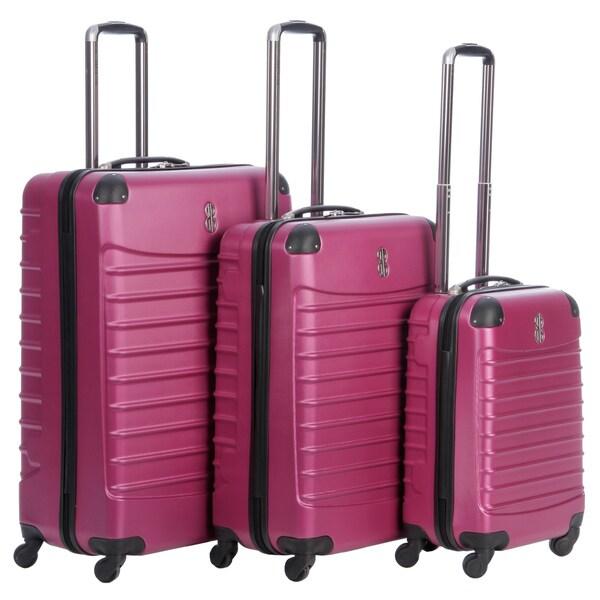 Bill Blass 'Voyager' 3-piece Hardside Spinner Luggage Set