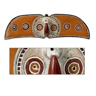Sese Wood Handcrafted 'Bwa Celebration' Africa Tribal Mask (Ghana)