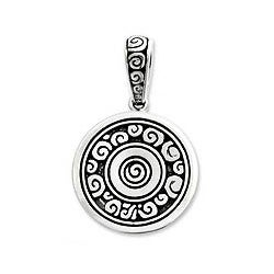 Sterling Silver 'Borobudur Muse' Pendant (Indonesia)