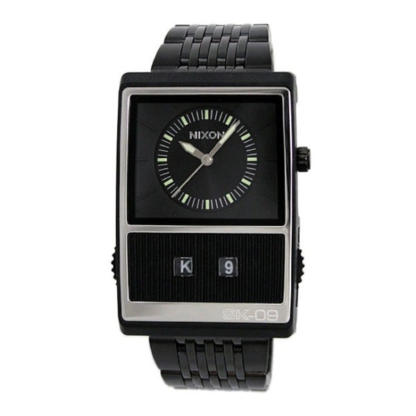 Nixon Men's Black Score Watch