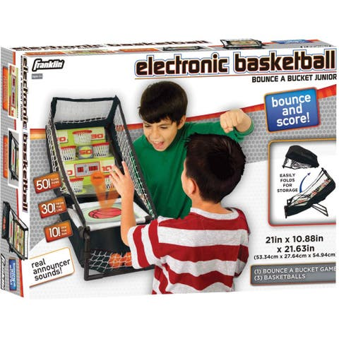 Franklin Electronic Basketball Bounce A Bucket Junior - Black/Red
