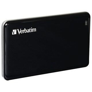 Verbatim 256GB Store'n' Go External SSD, USB 3.0 - Black