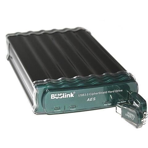 Buslink CipherShield CSE-1T-U3 1 TB Hard Drive - External