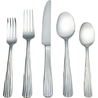 Spode Nature Stainless Steel 45-piece Flatware Set